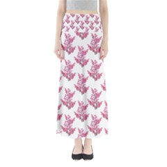 Colorful Cute Floral Design Pattern Maxi Skirts by dflcprintsclothing
