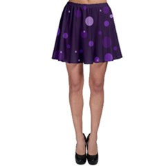 Decorative Dots Pattern Skater Skirt by ValentinaDesign