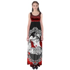 Well Behaved  Empire Waist Maxi Dress by tonitails