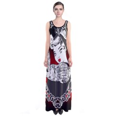 Well Behaved  Sleeveless Maxi Dress by tonitails