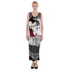 Well Behaved  Fitted Maxi Dress by tonitails