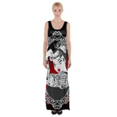 Well Behaved  Maxi Thigh Split Dress by tonitails