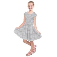 Flooring Household Pattern Kids  Short Sleeve Dress