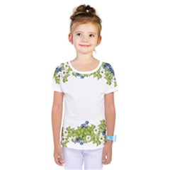 Birthday Card Flowers Daisies Ivy Kids  One Piece Tee