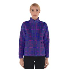 Grid Lines Square Pink Cyan Purple Blue Squares Lines Plaid Winterwear by Mariart