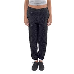 Star Black Women s Jogger Sweatpants by Mariart