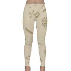 Pattern Culture Seamless American Classic Yoga Leggings by Nexatart