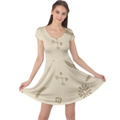 Pattern Culture Seamless American Cap Sleeve Dresses