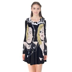 Sid And Nancy Flare Dress by Valentinaart