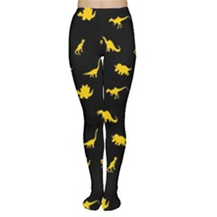 Dinosaurs Pattern Women s Tights by ValentinaDesign