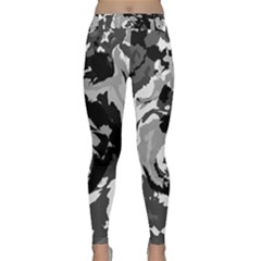 Abstract Art Classic Yoga Leggings by ValentinaDesign