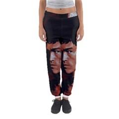 Bruce Lee Women s Jogger Sweatpants by Valentinaart