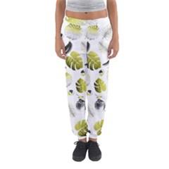 Tropical Pattern Women s Jogger Sweatpants by Valentinaart