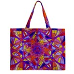 Exhilaration - Medium Zipper Tote Bag