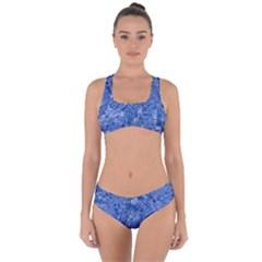 Melting Swirl C Criss Cross Bikini Set