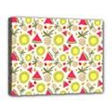 Summer Fruits Pattern Canvas 14  x 11  View1