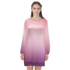 Background Blurry Template Pattern Long Sleeve Chiffon Shift Dress  by Nexatart