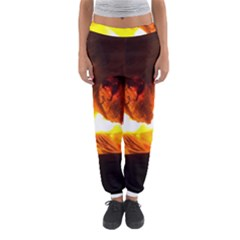Fire Rays Mystical Burn Atmosphere Women s Jogger Sweatpants by Nexatart
