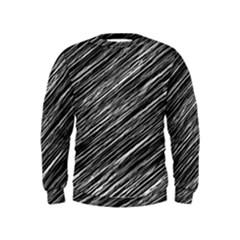Background Structure Pattern Kids  Sweatshirt
