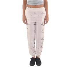 German French Lecture Writing Women s Jogger Sweatpants
