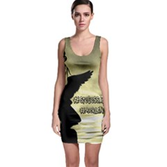 Berlin Sleeveless Bodycon Dress by Valentinaart