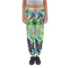Pixel Pattern A Completely Seamless Background Design Women s Jogger Sweatpants
