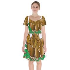 Young Bamboo Short Sleeve Bardot Dress by Mariart