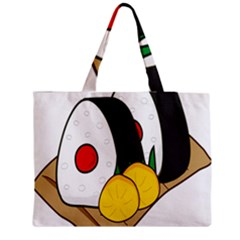 Sushi Food Japans Medium Zipper Tote Bag