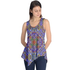 Oriental Pattern 01a Sleeveless Tunic by MoreColorsinLife