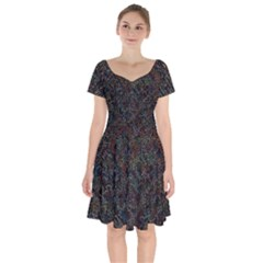 Chaos B3 Short Sleeve Bardot Dress