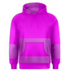 Line Pink Men s Pullover Hoodie by Mariart