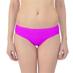 Line Pink Hipster Bikini Bottoms by Mariart