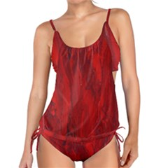 Stone Red Volcano Tankini by Mariart
