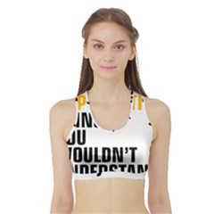 07 Copywriting Thing Copy Sports Bra With Border by flamingarts