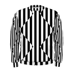 Optical Illusion Inverted Diamonds Men s Sweatshirt by Mariart
