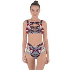 Beautiful Rays Bandaged Up Bikini Set  by Verselrstudio