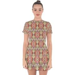 Illustrator Photoshop Watercolor Ink Gouache Color Pencil Drop Hem Mini Chiffon Dress by Mariart