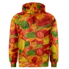 Leaves Texture Men s Pullover Hoodie