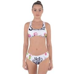 Bk1 Criss Cross Bikini Set by LimeGreenFlamingo