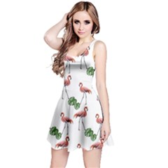 Flamingosandleaves Reversible Sleeveless Dress