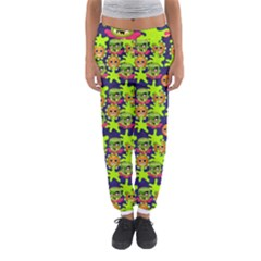 Smiley Monster Women s Jogger Sweatpants