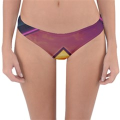 The Rainbow Bridge Of A Thousand Fractal Colors Reversible Hipster Bikini Bottoms by jayaprime