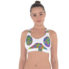 Paw Cross String Back Sports Bra by BangZart