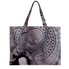 Fragmented Fractal Memories And Gunpowder Glass Mini Tote Bag by jayaprime