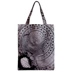 Fragmented Fractal Memories And Gunpowder Glass Classic Tote Bag by jayaprime