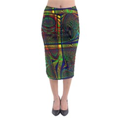 Hot Hot Summer D Midi Pencil Skirt by MoreColorsinLife