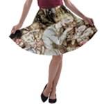 1933 Arthur Rackham Goblin Market A-line Skater Skirt