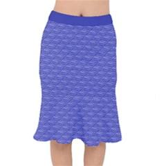 Blue Scales Mermaid Skirt by Brini