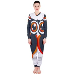 Owl Logo Onepiece Jumpsuit (ladies)  by BangZart