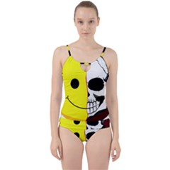 Skull Behind Your Smile Cut Out Top Tankini Set by BangZart